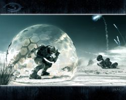 Halo 3 Wallpaper by battouchan