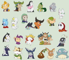 Tumblr Icons Batch 1 by oORiddleOo