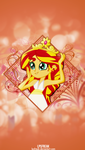 WOTW: sunset shimmer iPhone 5 wallpaper by illumnious
