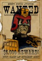 Wanted Dredd by D W Frydendall by ChazWest