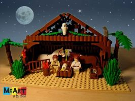 lego nativity by McArtalaCarte