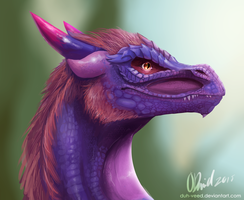 Dragon by duh-veed