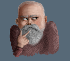 Old Man 2 by Speck--Of--Dust