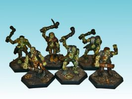 Plague Zombies by nergling