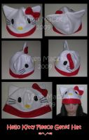 Hello Kitty Fleece Genki Hat by ZenAndCoffee