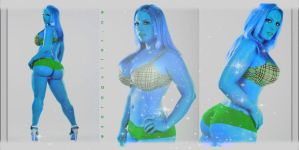 Blue Model by sagget69
