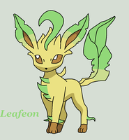 Leafeon by Roky320