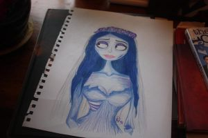 Emily the corpse bride by RebeccaJonesArt
