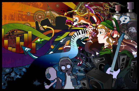 Graphic Resonance -contest- by inkloose
