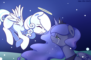 EQD: Artist Training Grounds 4 Day 4 Snow Angel by JoyfulInsanity
