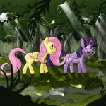 that Everfree forest by Dedalocious