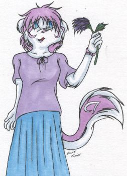 A Flower for You by ninetails390
