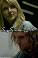 'Say Something New' Cover Art by AllenLenalee