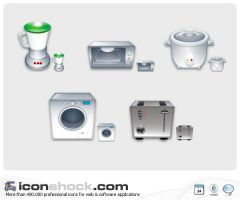 Electrical Appliances by Iconshock