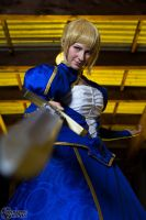Saber- Print available 4 by Cosmic-Empress