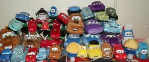 Cars 2 Plushie Family by LilPinkCoupe