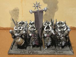 Chaos Warriors of Slaanesh by gowsk