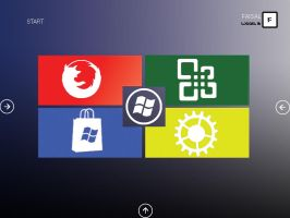 Windows 8 concept by Faisalharoon