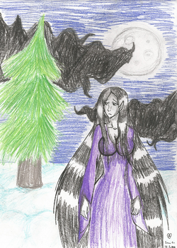 The Groke: Lonely Mistress of Winter NEW VERSION by TheQueenOfTheMonkeys