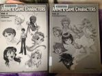 Look at Anime and Game Characters Volume books by Magic-Kristina-KW