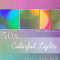 Colorful Lights Textures by freaky-x