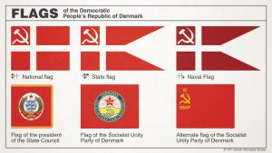 Flags of Communist Denmark by Regicollis