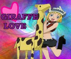 Patty and Giraffe Love by dramaqueen935
