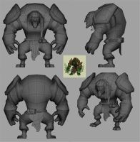 Low Poly troll by Nith47