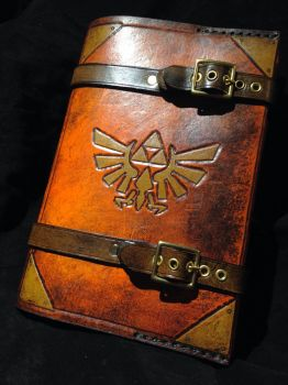Zelda book cover by Skinz-N-Hydez