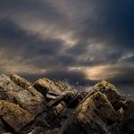 Sea-Sky-and-Rocks colour by hold-steady