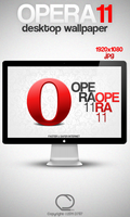 Opera 11 Wallpaper by Deiz787