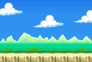 Game Stage and Background by nellaboon