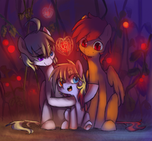 The warmth of the family by Nati789