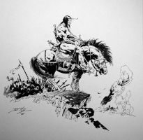 Frazetta study 1 by Gamewiz
