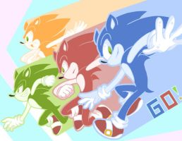 SONIC reCOLORS, GO! by stylishGamer