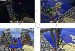 Minecraft Boat elevator by presentlydead