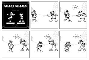 Silent Sillies 041 - Frozen Fool by JK-Antwon