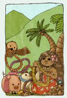 Hawaii Children's Book by lokelani