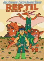 Reptil the Dinosaur Boy by MCsaurus