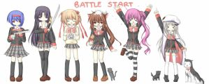 Battle Start by PeachyCandy