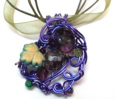 Fae Discotheque Necklace by sojourncuriosities