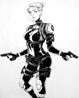 Cassie Cage by AaronNSN