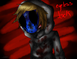 Eyeless Jack -Speedpaint link in Desc- by rasen-shuriiken