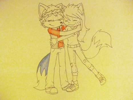 Always Friends Sketch thing by Kitten-Lynn