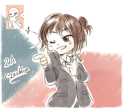 Sketch! Expression Challenge Czechia by AkariMarco