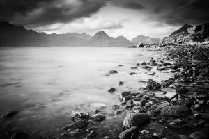 Elgol Tide BnW by AlexMarshall