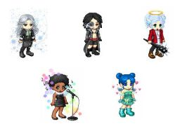 Gaia Character Avatars 5 by tigerjr228