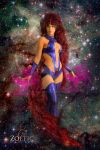 Starfire in Space by cityoffog