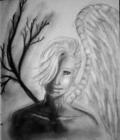 hurt angel by XEvah