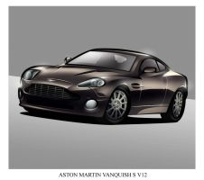 A is for Aston Martin by MobileSuitGio